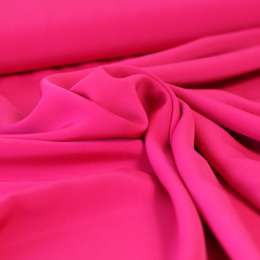 Luxury Crepe- Fuchsia