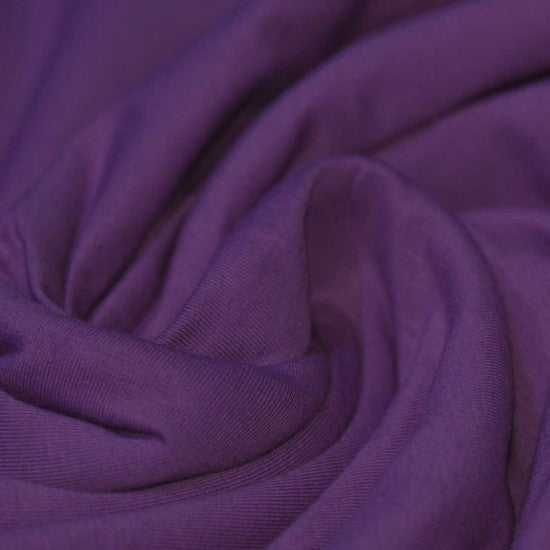 Cotton Jersey- Purple