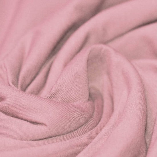 Cotton Jersey-Old Pink