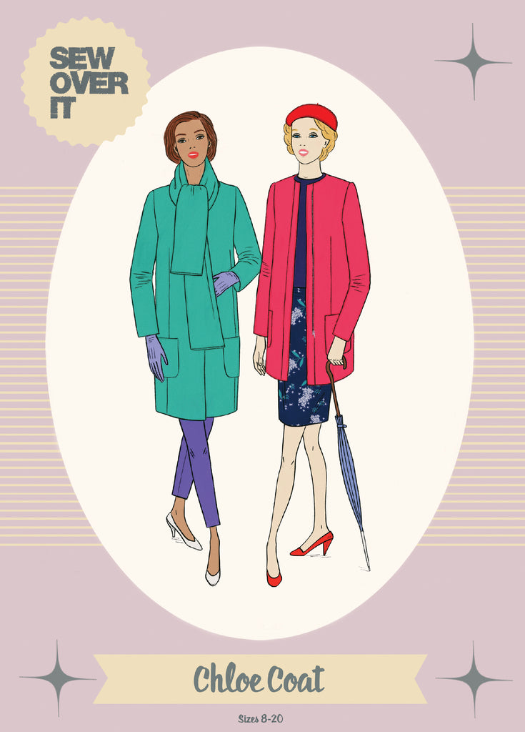 Sew Over It - Chloe Coat Sewing Pattern
