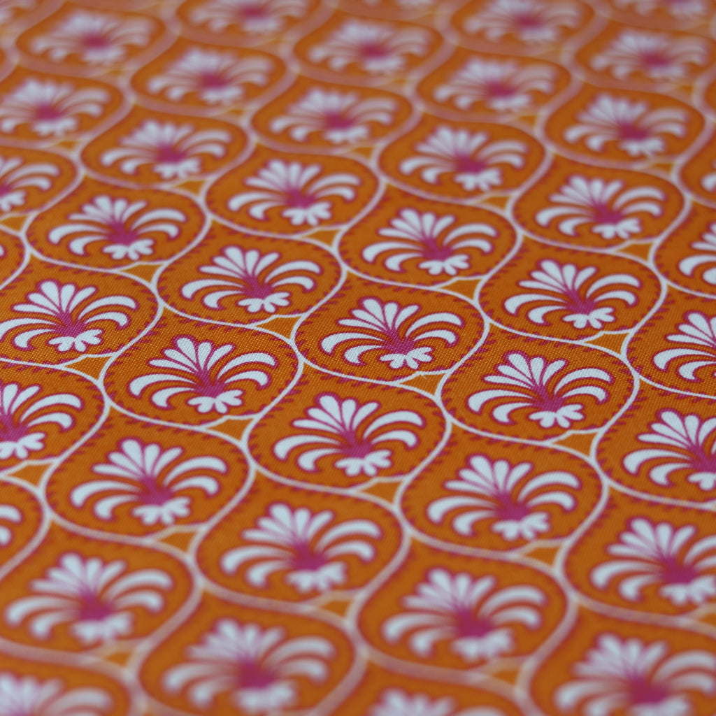 Gutermann 'French Cottage' Cotton- Orange
