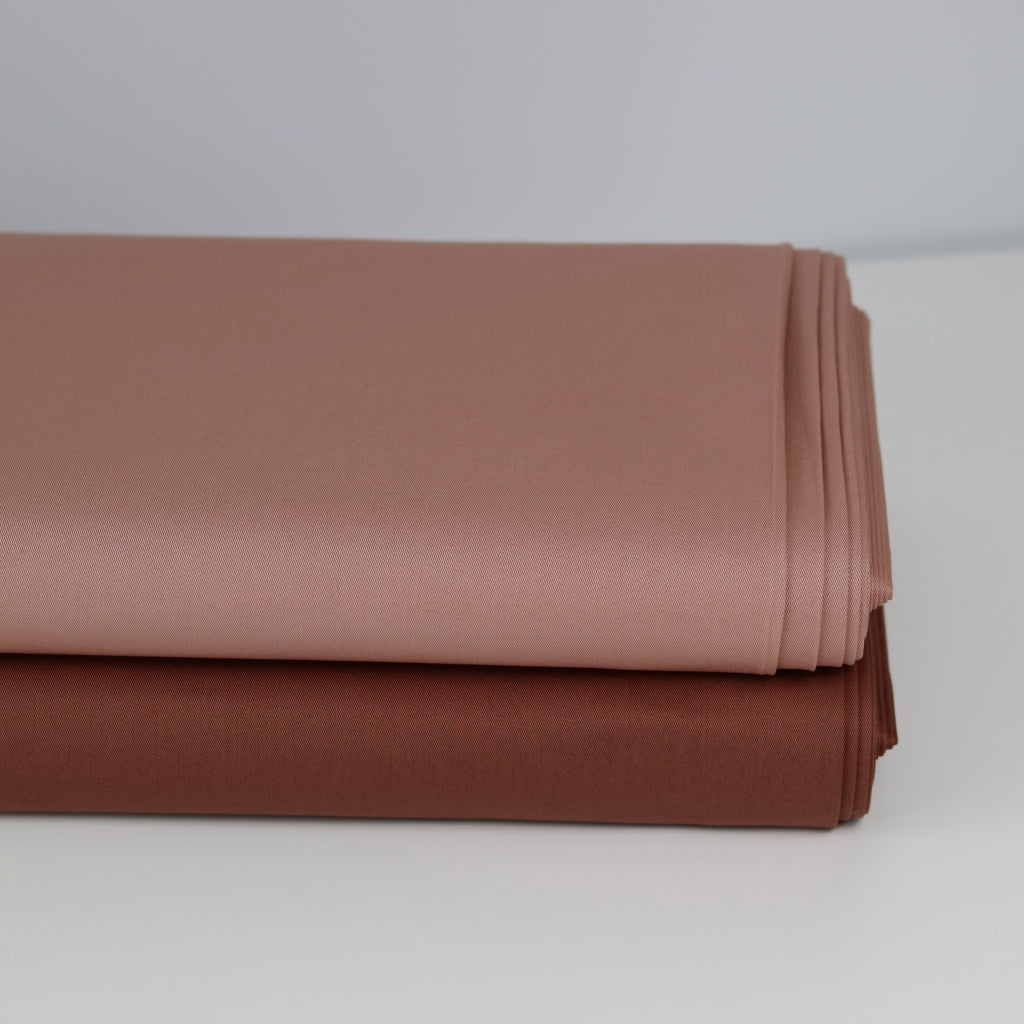 Stretch Cotton- Salmon/Blush