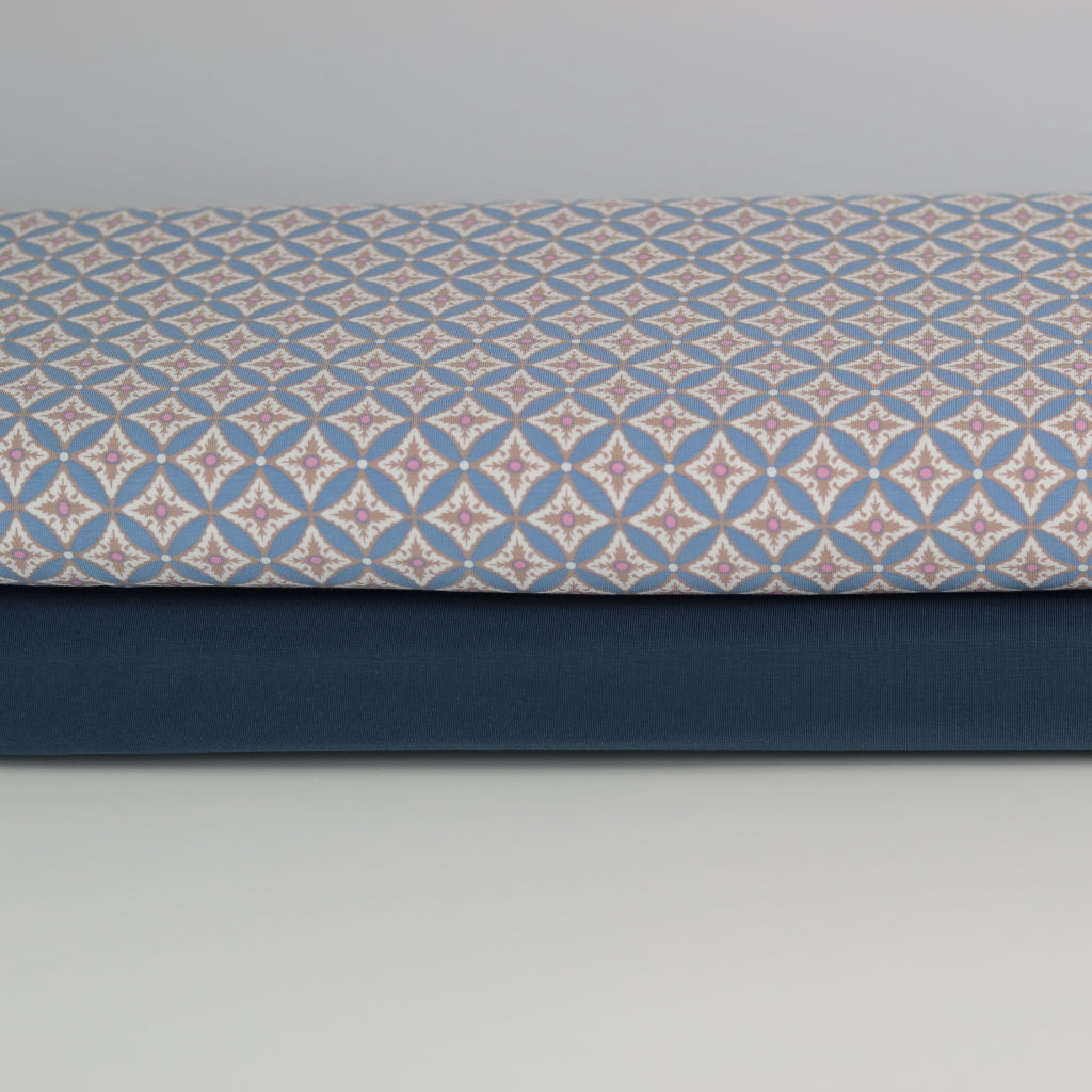 Gutermann Cotton Jersey- Denim Blue