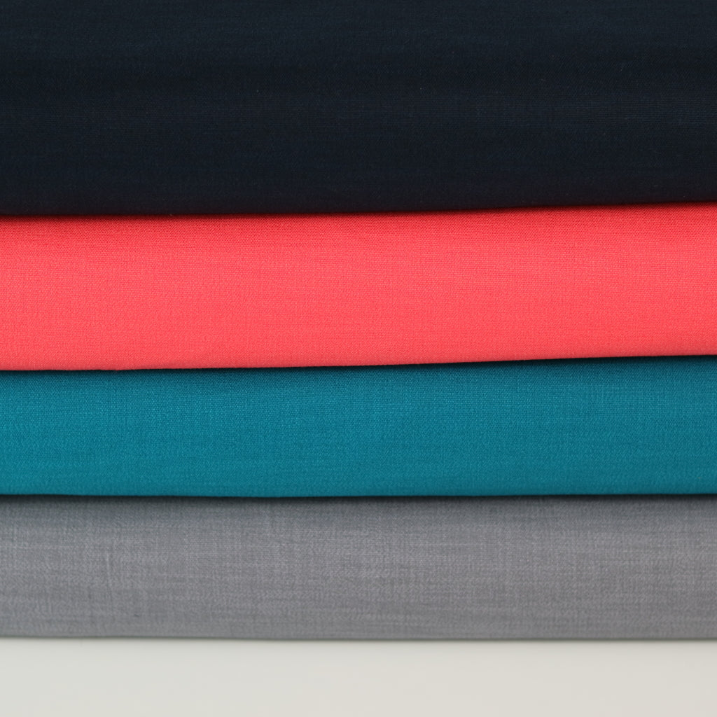 Stretch Linen- Navy