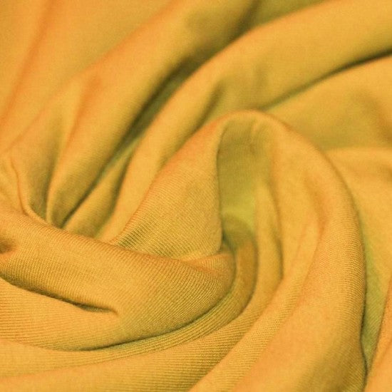 Cotton Jersey- Ochre