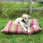 Heather Tartan Pillow Dog Bed