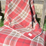 Red Tartan Soft & Cosy Blanket
