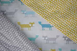 New! Teal Foxes Soft & Cosy Blankets