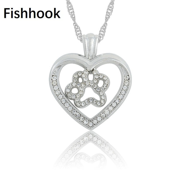 Fishhook Dog Cat Necklace