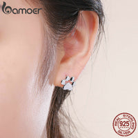 Cat Footprints Stud Earrings