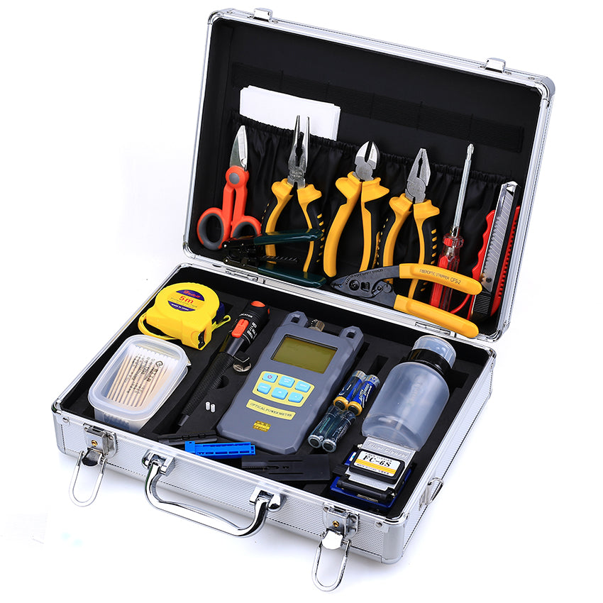 FTTH Termination Tool Kit TC-202 Optical Fiber Tools Kit– TEKCN Fustion  Splicer Store