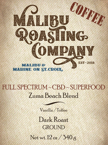 ZUMA BEACH BLEND // FULL SPECTRUM SUPERFOOD // DARK ROAST