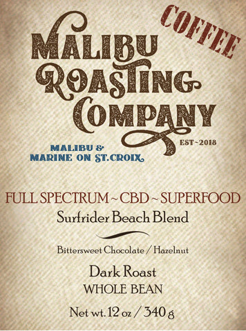 SURFRIDER BEACH BLEND // FULL SPECTRUM SUPERFOOD  // DARK ROAST