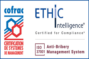 ETHIC Intelligence® has been accredited by COFRAC