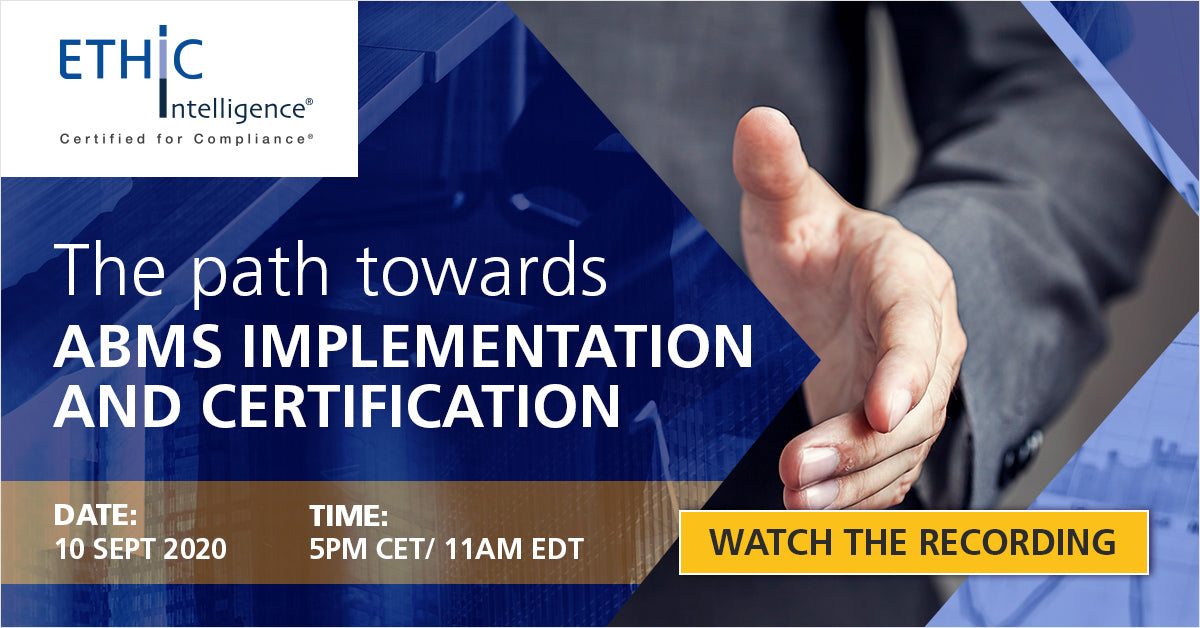 The Path Towards ABMS Implementation and Certification Webinar