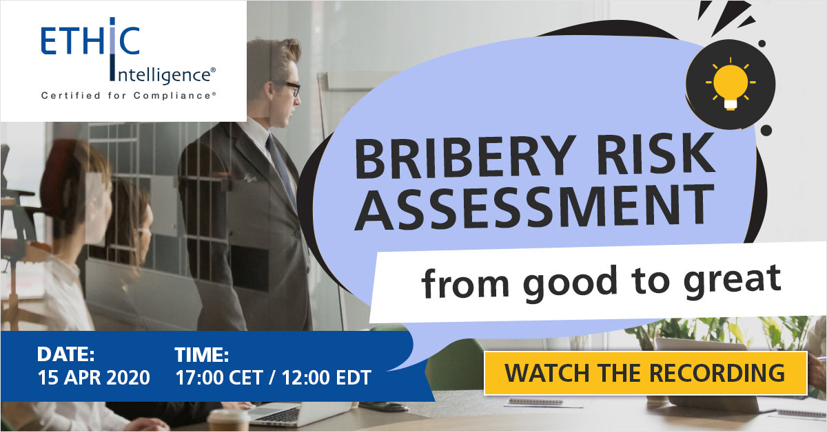 Bribery Risk Assessment from good to great