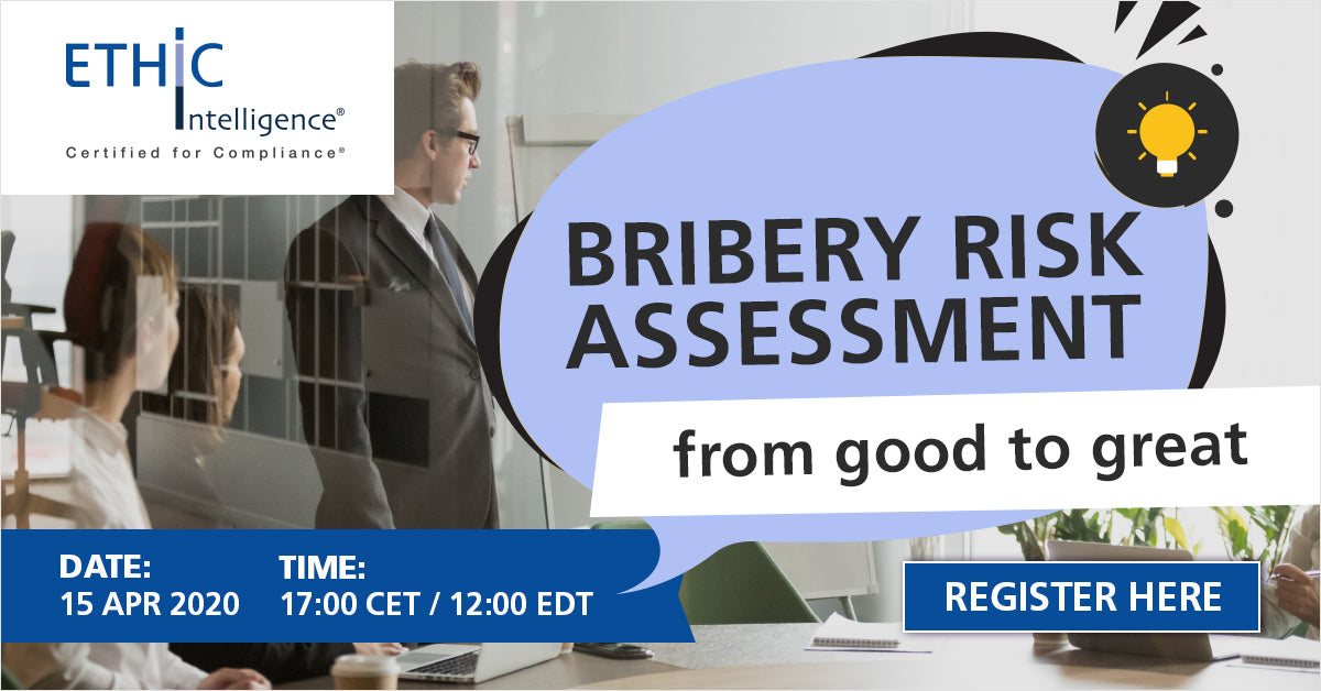 Bribery Risk Assessment Webinar