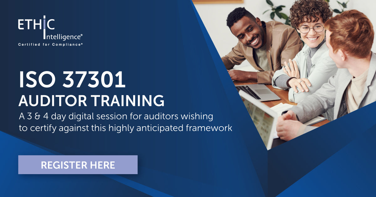 ISO 37301 Auditor Training
