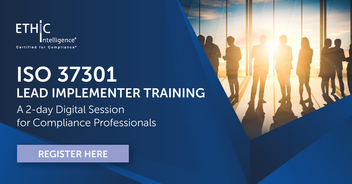 ISO 37301 Lead Implementer Training