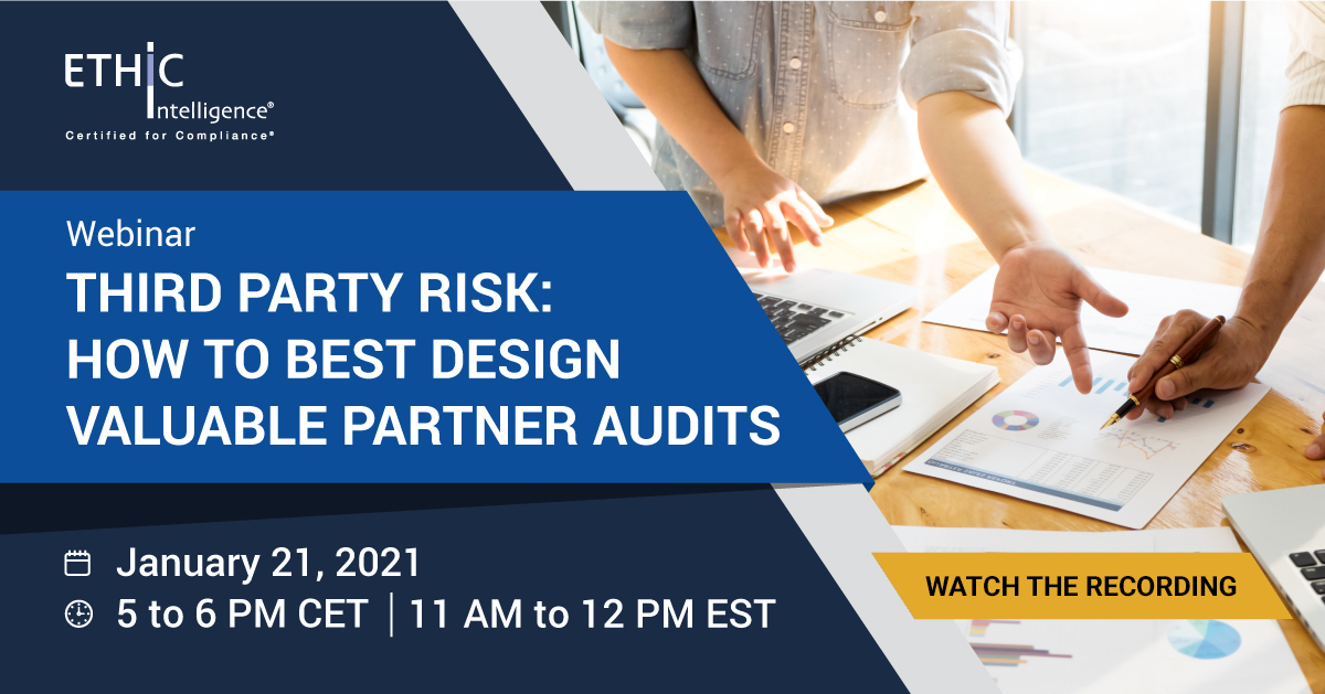 How to Best Design Valuable Partner Audits Webinar