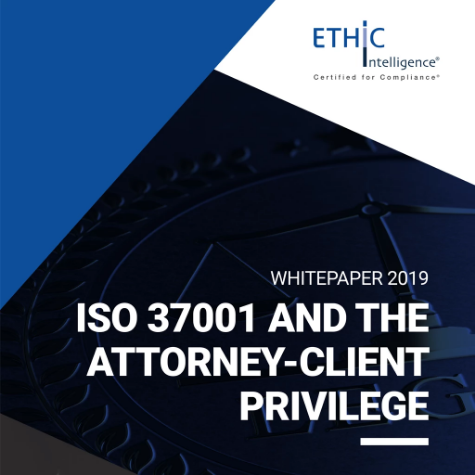 Whitepaper 'Why ISO 37001 actually helps legal privilege'