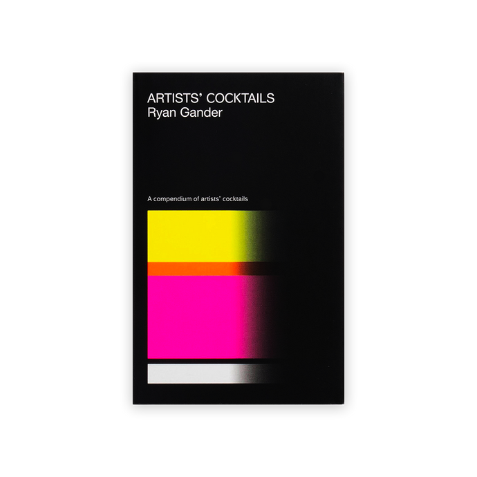 Artists' Cocktails By Ryan Gander