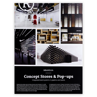 Concept Stores & Pop-Ups: Integrated Brand Systems in Graphics and Space