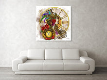Laden Sie das Bild in den Galerie-Viewer, Steampunk - Time Lady - Leinwandbild