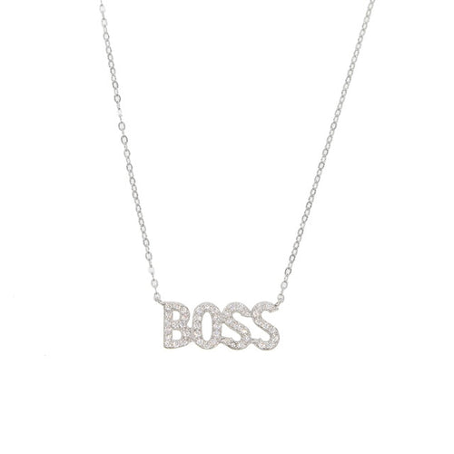 Baby Boss Necklace