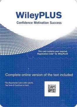 Access Code WileyPLUS - Stand Alone Access Code