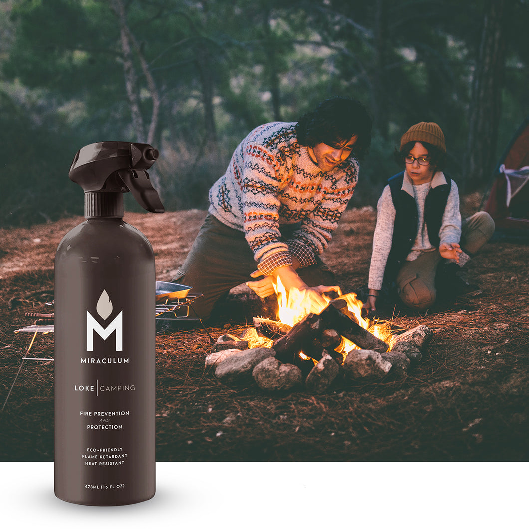 LOKE | CAMPING<br/>Fire Prevention & Protection Spray