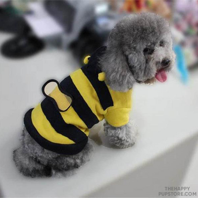 Buzzy Bee Design Dog Costume