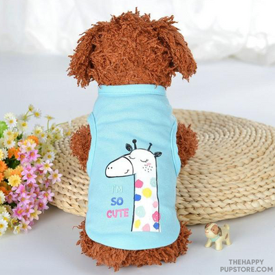 im_so_cute_dog_t_shirt