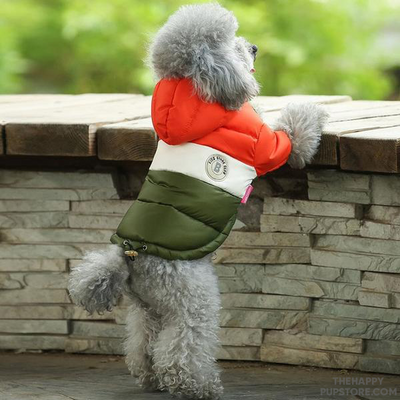 Fleece Lined Warm Dog Winter Jacket