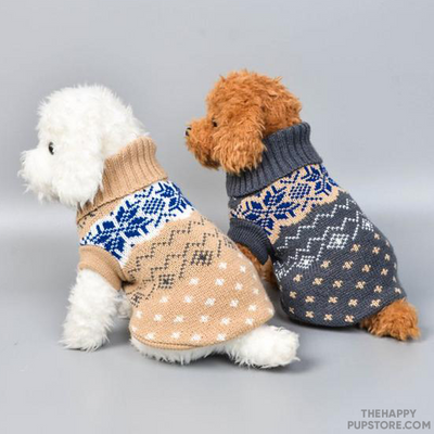 Knitted Jumper Dog Winter Sweater