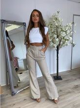 Load image into Gallery viewer, Tailored Belle Trousers Beige