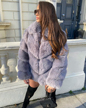 Load image into Gallery viewer, Premium Faux Fur Charcoal Grey