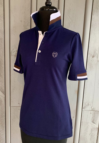 DHRW Short Sleeve Polo - Navy