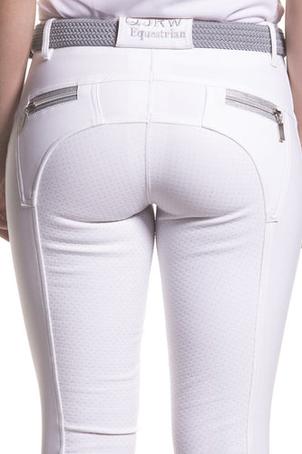 QJRW Zara White Breeches