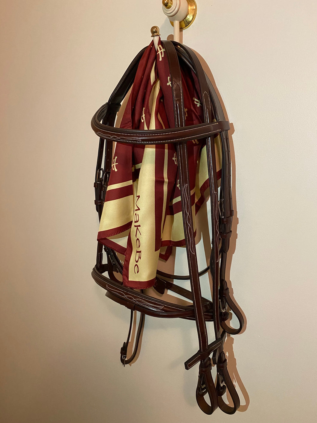 Makebe Brown Bridle with Reins
