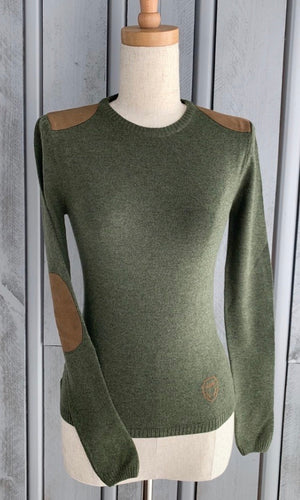 DHRW Wool Jumper - Moss Green