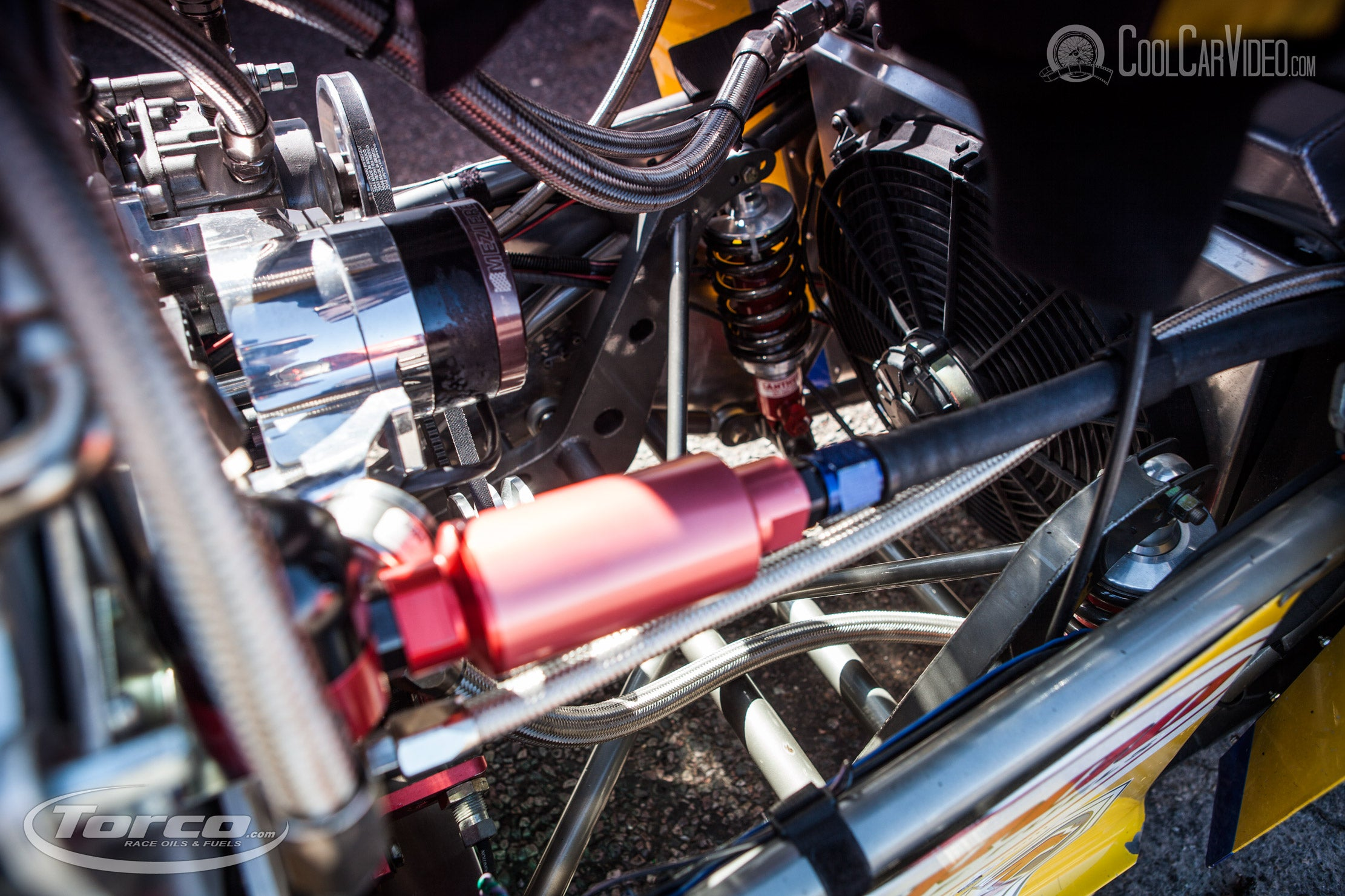 dragster suspension