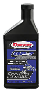 Torco GP-7 2-stroke Racing Oil 500 ml. bottle