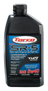 5w40 Torco SR-5 GDL Synthetic High Performance Oils