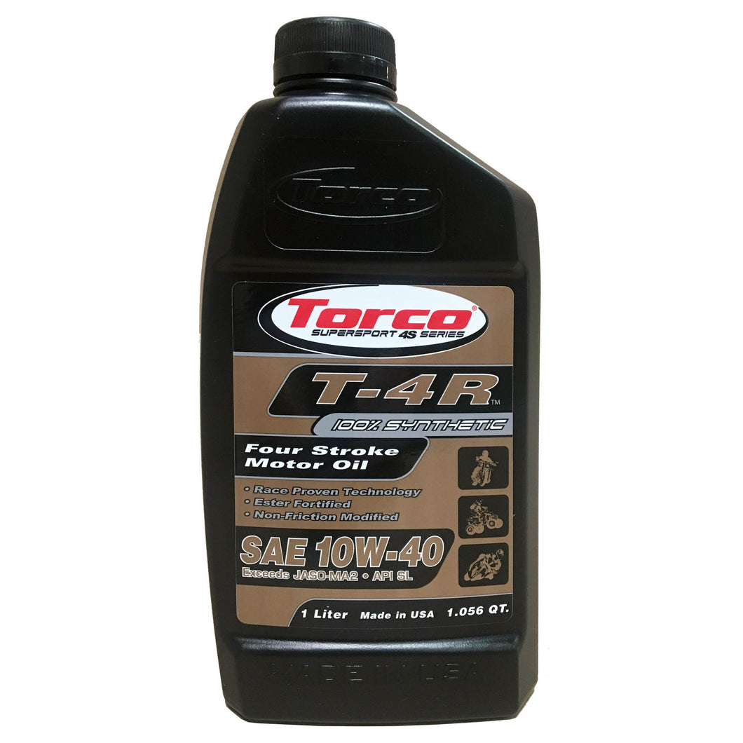 Torco T-4R 4-Cycle Synthetic Oil