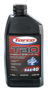 Torco TBO Break-in Oil
