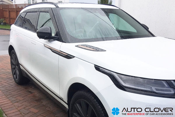 Auto Clover Premium Wind Deflectors Set for Range Rover Velar 2017+ (6 pieces)