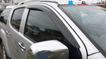 Auto Clover Wind Deflectors Set for Isuzu D-MAX 2012+ (2 pieces Front Only)