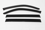Auto Clover Wind Deflectors Set for Ssangyong Kyron 2006 - 2011 (4 pieces)