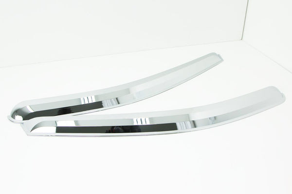 Auto Clover Chrome Wind Deflectors Set for Fiat Talento 2015+ (2 pcs)